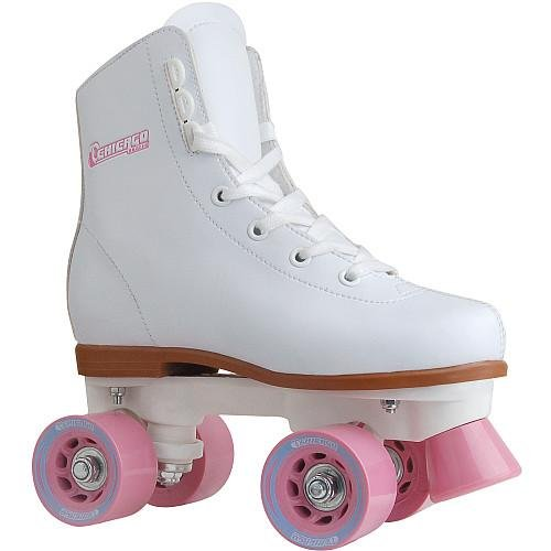 Chicago Girl's Classic Roller Skates – White Rink Skates from Chicago Skates