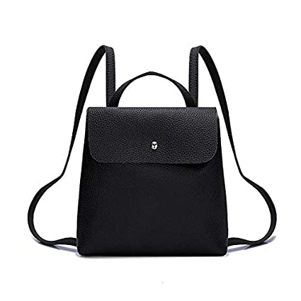 09def41c31c1 Image Unavailable. Image not available for. Color  2018 Fashion Women  Backpack PU Leather Backpacks ...