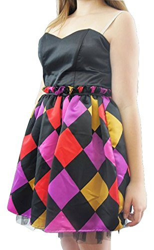 LipsyDamen Kleid, Tierdruck Mehrfarbig Black & Multi Colour
