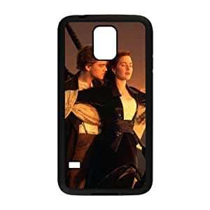 FLYBAI Titanic Jack & Rose Phone Case For Samsung Galaxy S5 i9600 [Pattern-1]