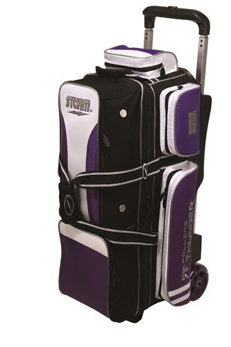 Storm Rolling Thunder 3 Ball Bag Black/Purple/White by Storm