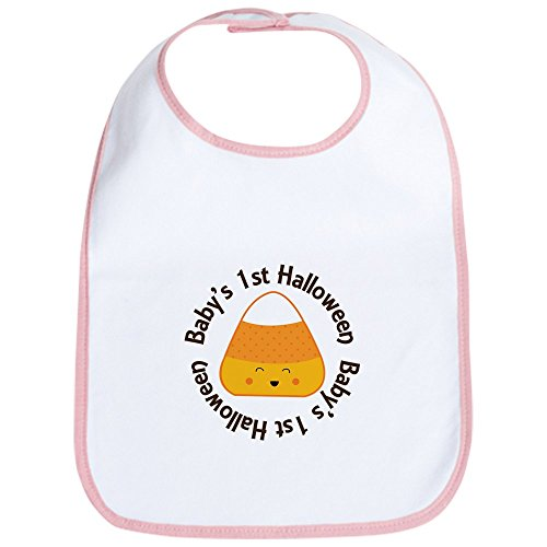 CafePress - 1st Halloween Candy Bib - Cute Cloth Baby Bib, Toddler Bib