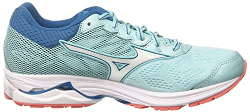Mizuno Running 65 White Wos Multicolor Bluesapphire para Mujer Aquasplash 21 de Wave Rider Zapatillas 6xrqT6wp