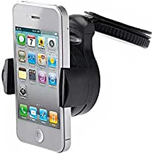 3-in-1 Car Mount Windshield Dash AC Air-vent Holder Stand Window Glass Dashboard Cradle Suction for Verizon Kyocera Hydro Elite C6750 - Verizon LG Cosmos Touch VN270 - Verizon LG Enlighten VS700