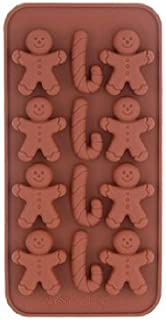 Little Guy Shaped Silicone Biscuit Chocolate Mold Tray (Coffee)
