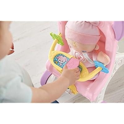 Fisher-Price Brilliant Basics Stroll-Along Walker, Standard Packaging: Toys & Games