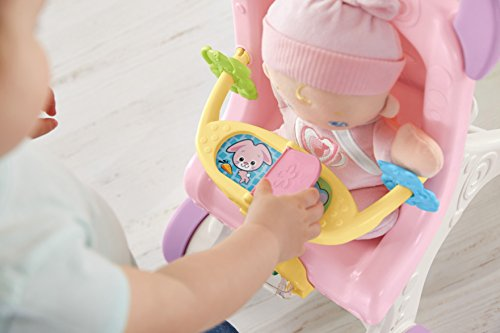 41vq65VuKCL - Fisher-Price Brilliant Basics Stroll-Along Walker