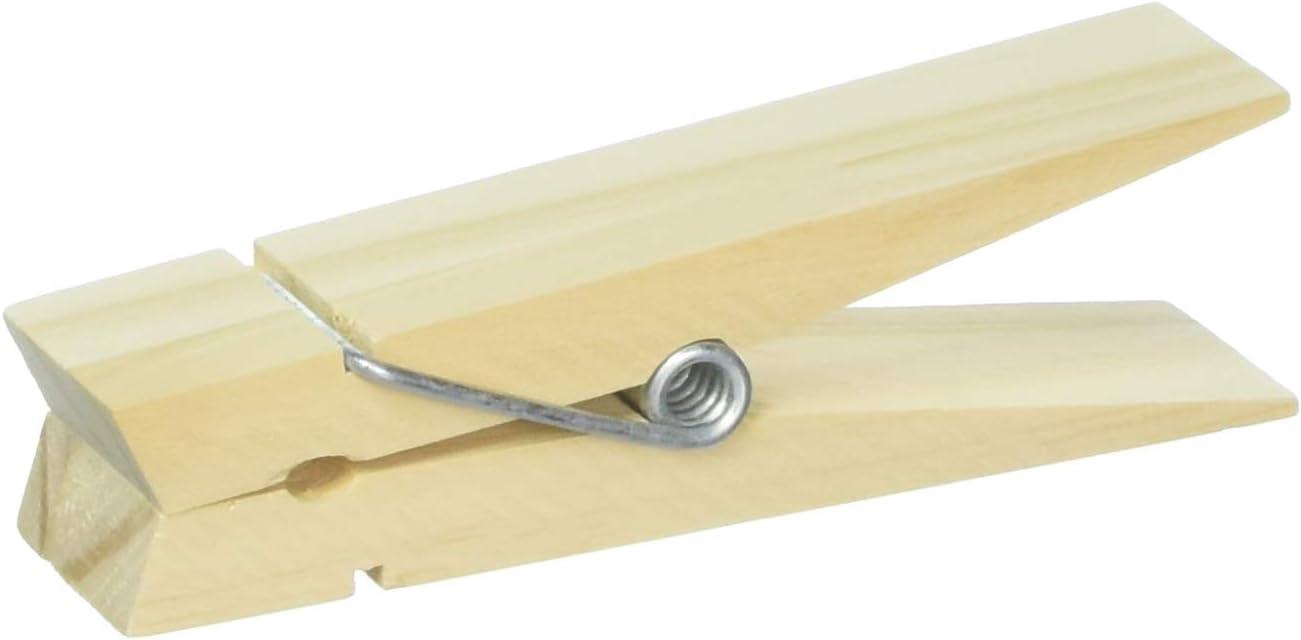 Darice 9191-98 Jumbo Craft Wood Clothespin, 6-Inch