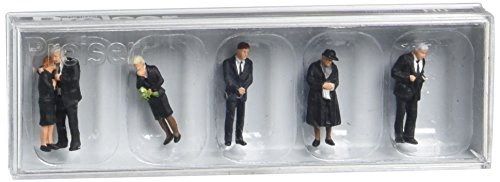 - Preiser 10521 Funeral Attendees Package(6) HO Model Figure
