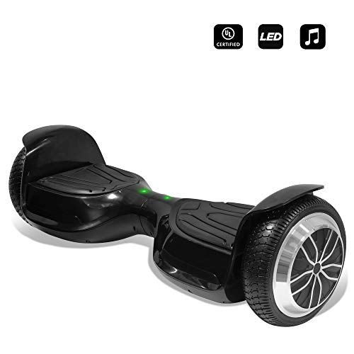 cho 6.5' inch Wheels Electric Smart Self Balancing Scooter Hoverboard with Speaker LED Light -...