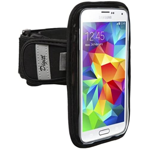 Premium Running Armband for Samsung Galaxy Note 8 S8 S7 Edge Phones w/ Key Hole, Credit Card Slot and Sweat Resistant Reflector Strap Sales