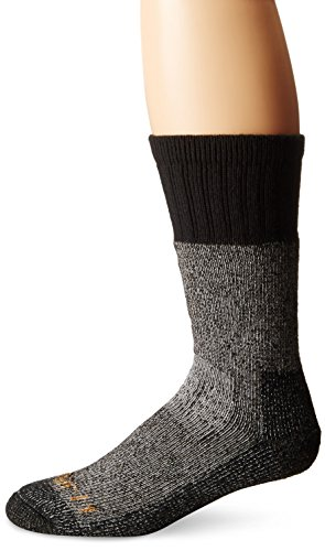 Carhartt Men's Extremes Cold Weather Boot Socks,  BlackHeather, Shoe: 6-12