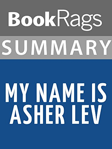 an analysis of the book my name is asher lev Buy essay online, essay writing service book report/review - my name is asher lev by chaim potok | subjects: other - college buy essay online at.
