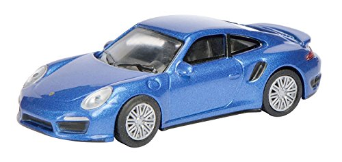 Porsche 911 (991) Turbo, metallic-blue, 0, Model Car, Ready-made, Schuco 1:64 Porsche 911 Motor