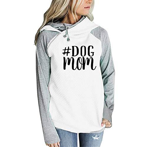 Dog Mom Sweatshirt Pet Owner Shirt French Bulldog T-Shirt Animal Lover Tees Funny Dog Shirt (Personalized Dog T-shirts)