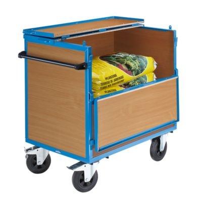 BEG Holzkastenwagen mit Deckel .Tragfähigkeit 500 kg. 20022701
