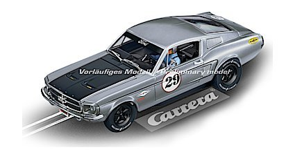 Carrera 27554 Evolution Analog Slot Car Racing Vehicle - Ford Mustang GT No.29 (1: 32 Scale)