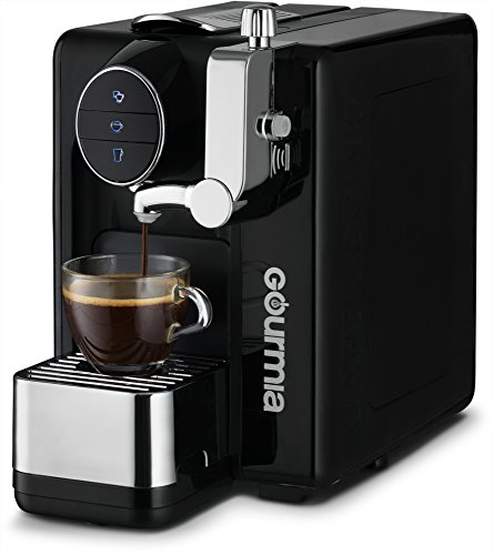 Gourmia GCM6500 One Touch Automatic Espresso Cappuccino & Latte Maker Italian engineered and components Coffee Machine Froth Milk In Cup with the Push of One Button Nespresso Compatible by Gourmia (Image #2)