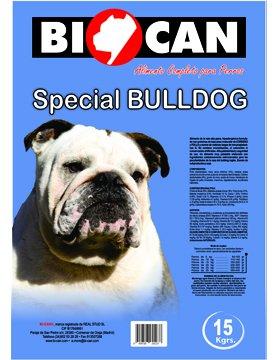 Pienso para bulldog inglés