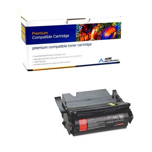 Label Applications 21000 Yield - AIM Compatible Replacement for 02-24-631624 Labels Applications Toner Cartridge (21000 Page Yield) - Compatible to Lexmark 12A7468 - Generic