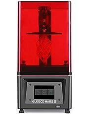 ELEGOO Mars Pro MSLA 3D-printer UV Photocuring LCD 3D-printer met Matrix-UV-led-lichtbron, geïntegreerde actieve kool, offline druk afdrukformaat 115 x 65 x 150 mm