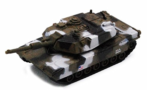 Pullback Power Army Tank, Arctic Camo - 405D - Model Toy Car but NO BOX -