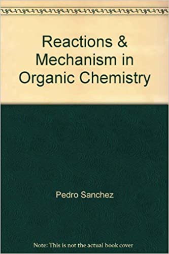 Reaction Mechanism In Organic Chemistry Pdf