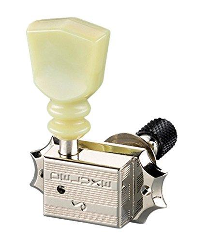 - Schaller Machine Heads - Original G-Series Deluxe Keystone DR Toplocking Nickel