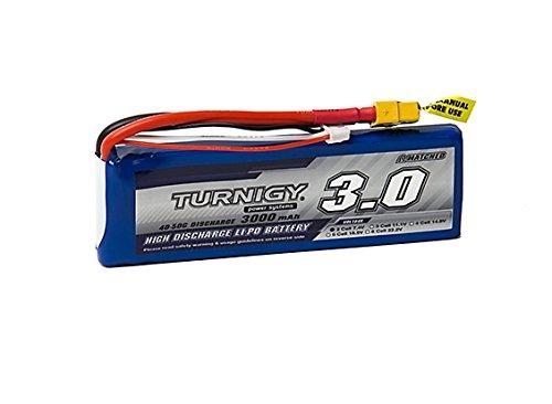 Price comparison product image Turnigy 3000mAh 2S 40C Lipo Pack w / XT-60