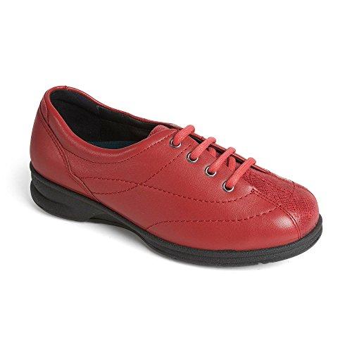 Padders , Sandales Compensées femme red