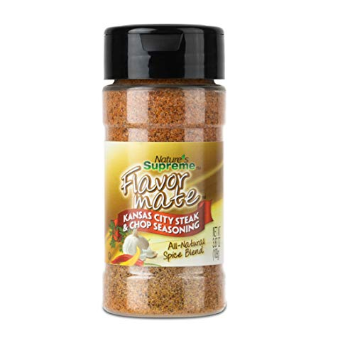 Nature's Supreme Kansas City Steak & Chop All Natural Spice (Pack of 6)