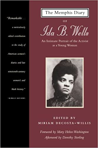 The Memphis Diary of Ida B. Wells: An Intimate Portrait of the Activist as a Young Woman (Black Women Writers Series)