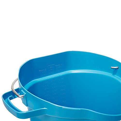 Vikan Polypropylene Blue 5 Gallon Pail