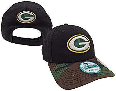 Green Bay Packers The League Camo 9FORTY Adjustable Hat / Cap from New Era