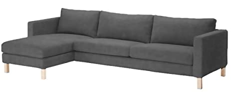 Durable Heavy Cotton Karlstad Three Seat Sofa and Chaise Lounge Cover Replacement  sc 1 st  Amazon.com : karlstad chaise lounge - Sectionals, Sofas & Couches