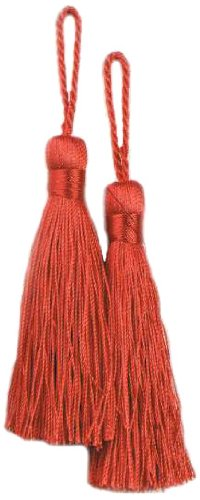 Expo Fiber Tassel, Red, 2-Pack -