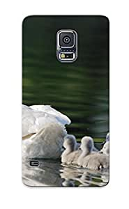 Premium Tpu With Animal Baby Backround Bird Cover Skin Series For Galaxy S5