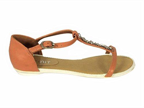 SKO'S Sandales Pink L15b1001 pour Femme rrwaqHP4