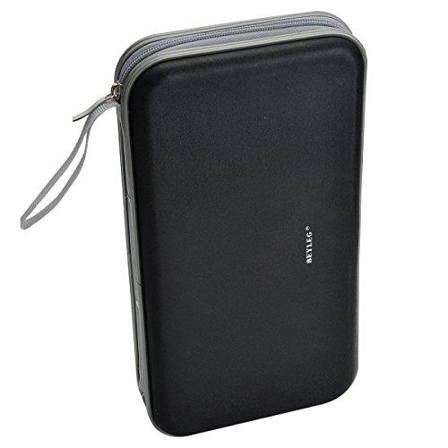 BEYLEG 70 Capacity Heavy Duty Cd Wallet, Black