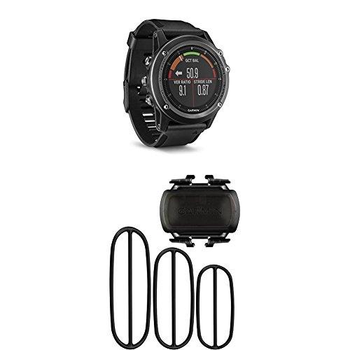 Garmin Fenix 3 HR, Gray and Bike Cadence Sensor