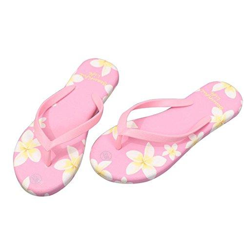 Chanclas Sandalias, FAMILIZO Zapatos Verano Mujer Sandalias Flip-Flops Sandy Beach Baño Cooler Zapatillas Zapatos Rosa