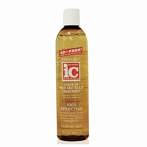 Fantasia IC Leave-in Hair & Scalp Treatment, 16.0 Ounce