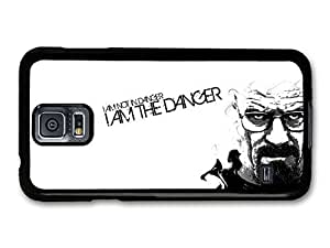 Breaking Bad Walter White I Am The Danger Quote case for Samsung Galaxy S5 by runtopwell