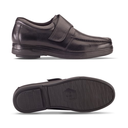 Black Men's Londonian Defyer Style Monk Gravity Loafers YzHCZxqqnw