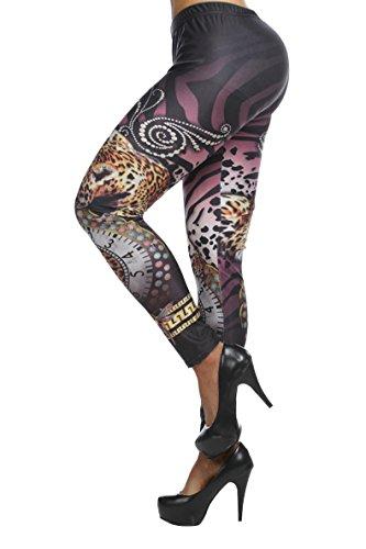 Ninimour- Fashion Women's Stretchy Leggings Pants Tights