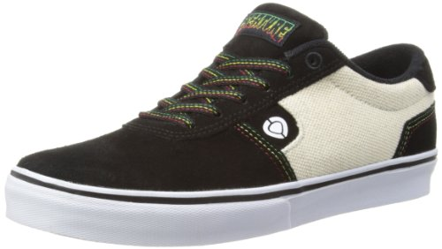 C1rca Hombres Lamb Skate Shoe Black / Natural Hemp / Creature