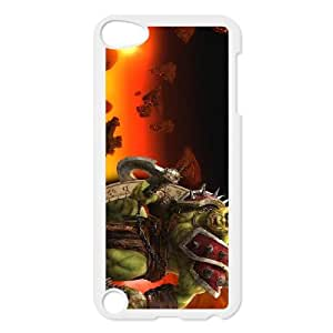 iPod Touch 5 Case White World of Warcraft Q1E2M