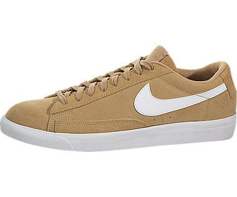 Gold Blazers Nike (NIKE Blazer Low Elemental Gold / Elemental Gold, 12 D(M) US)