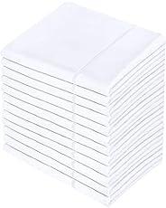 Utopia Bedding Queen Pillowcases - 12 Pack - Bulk Pillowcase Set - Envelope Closure - Soft Brushed Microfiber
