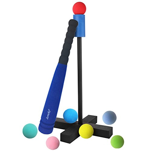 Ball Toys For Toddlers : Aoneky mini foam tball set for toddlers carry bag
